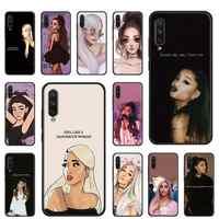 Fashion singer Ariana Grande Thank u next Soft Case For Xiaomi Mi CC9 CC9E 9 9T Pro Note 10 Pro A1 A2 Lite 5X 6X 9 8 Lite F1 Cov