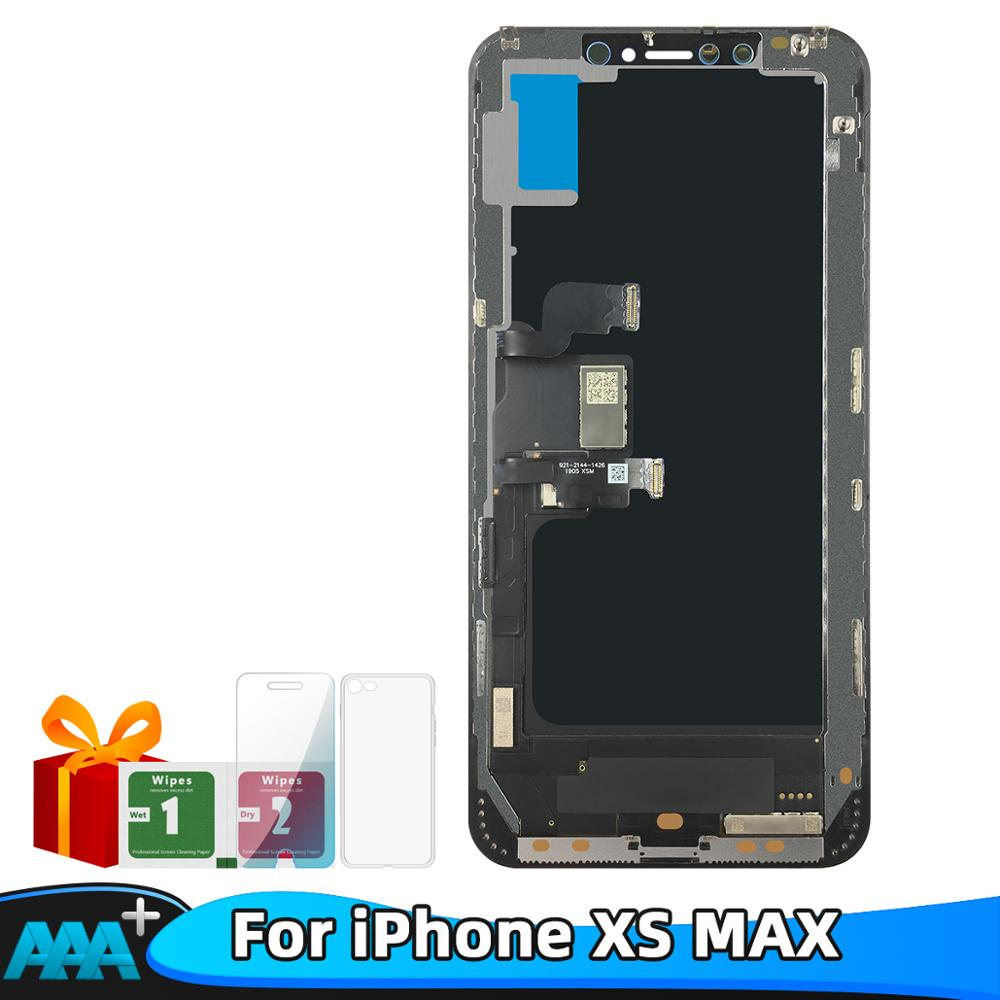 For iPhone XS Max LCD Display OLED For Tianma AMOLED OEM Touch Screen With Digitizer Replacement Assembly Parts Black(China)