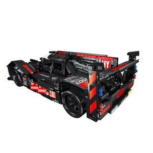 Image 5 - RC Formula Racing Car Model Building Blocks Compatible Technic Series DIY Model Set Toys Power Motor Function Car Bricks Toys
