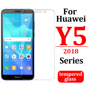 protective glass for huawei y5 prime 2018 armor on huawei y5 lite 2018 y5 2017 tempered display the huawei y5 2019 safety light(China)