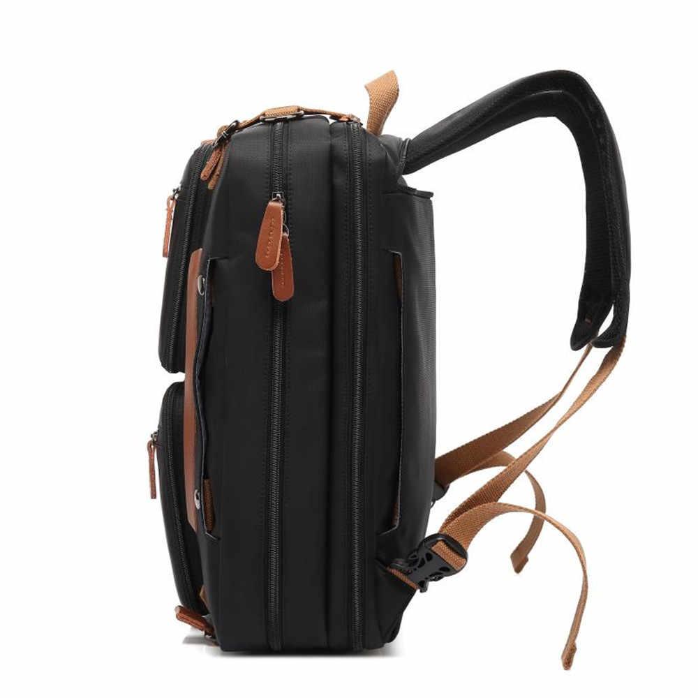 Yeni sırt çantası 15.6 / 17.3 inç dönen dizüstü bilgisayar sırt çantası seyahat sırt çantası çok fonksiyonlu iş sırt çantası omuzdan askili çanta