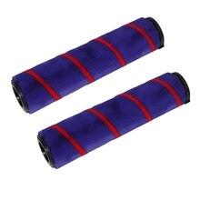 2Pcs Soft Roller Brush for Dyson V7 V8 V10 V11 Cordless Vacuum Cleaner Roller Brush Replace