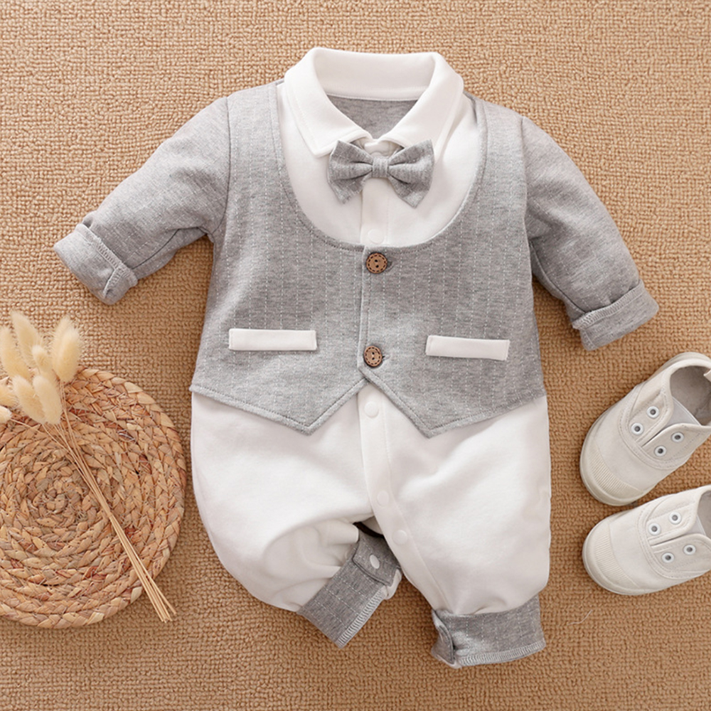Malapina Baby Boy Romper Kids Summer Spring 0-24M Age Infant Gentleman Toddler Newborn Outfits Baby Girls Clothes 2020 1