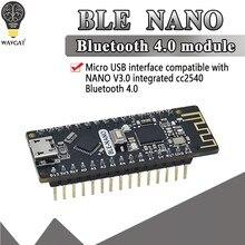 BLE-Nano для Arduino Nano V3.0 Mirco USB плата интегрирует CC2540 BLE беспроводной модуль ATmega328P плата микроконтроллера