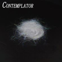 CONTEMPLATOR soft Prism Ice Dubbing for drys nymphs streamers fly tying holographic pearl Ice Dub captivating sparkle fibers набор даббингов hareline trout ice dub