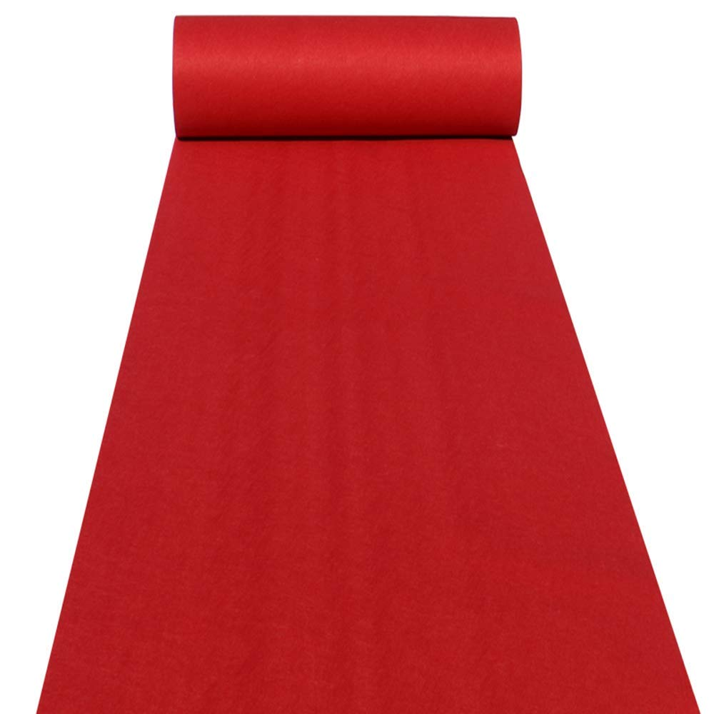 3M 5M 10M Wedding Aisle Runner White Blue Red Aisle Runner Rug Aisle Carpet Runner Indoor Outdoor Weddings Party Thickness:2 Mm