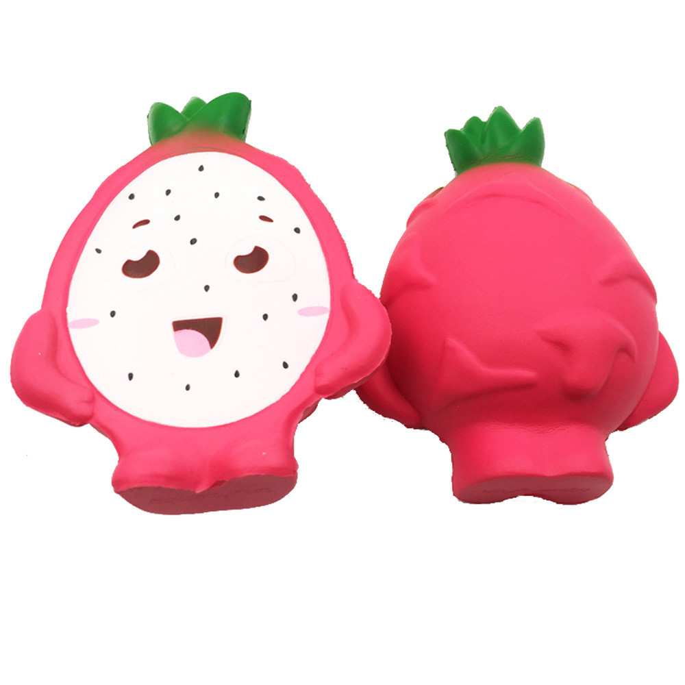 Pitaya Simulation Slow Rising Antistress Toy  Fruit Model Decoration Noverty Toys Decompression Squeeze Child Gift #B