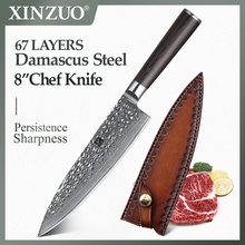 Chef-Knife Pakkawood-Handle Japanese Stainless-Steel High-Carbon XINZUO Pro 8-