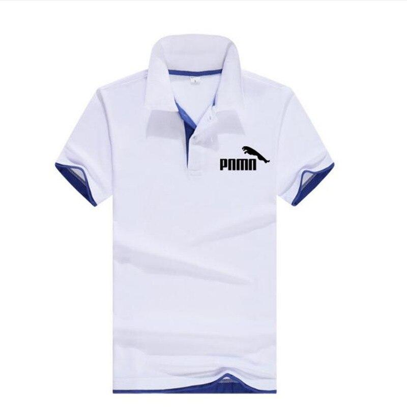 100% хлопок Одежда высшего качества 2021 новые летние мужские футболки-поло рубашки размера плюс S-3XL однотонные Цвет с коротким рукавом футболк...