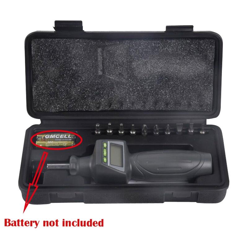 Digital Torque Screw Driver Torque ScrewDriver Measuring Range 0.05-0.5 N.m Three Working Modes