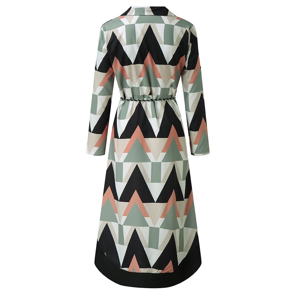vestido de mujer Women Holiday Style Feminino Print Casual Plus Size Ladies Dress femme robe