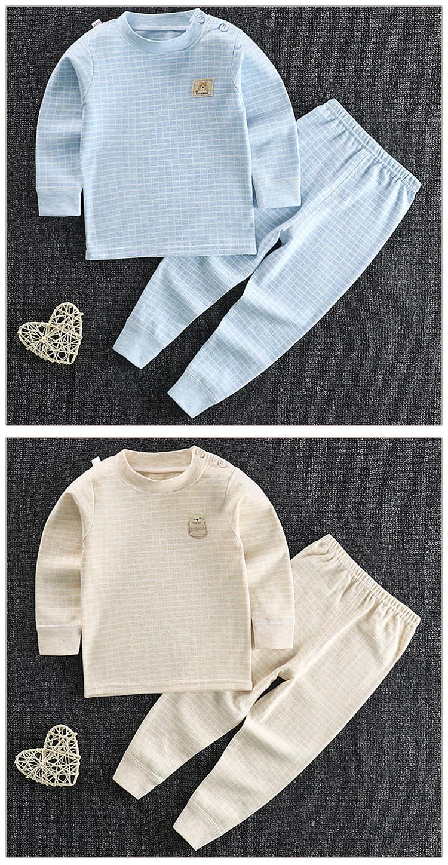 2020 novas crianças meninos pijamas terno de