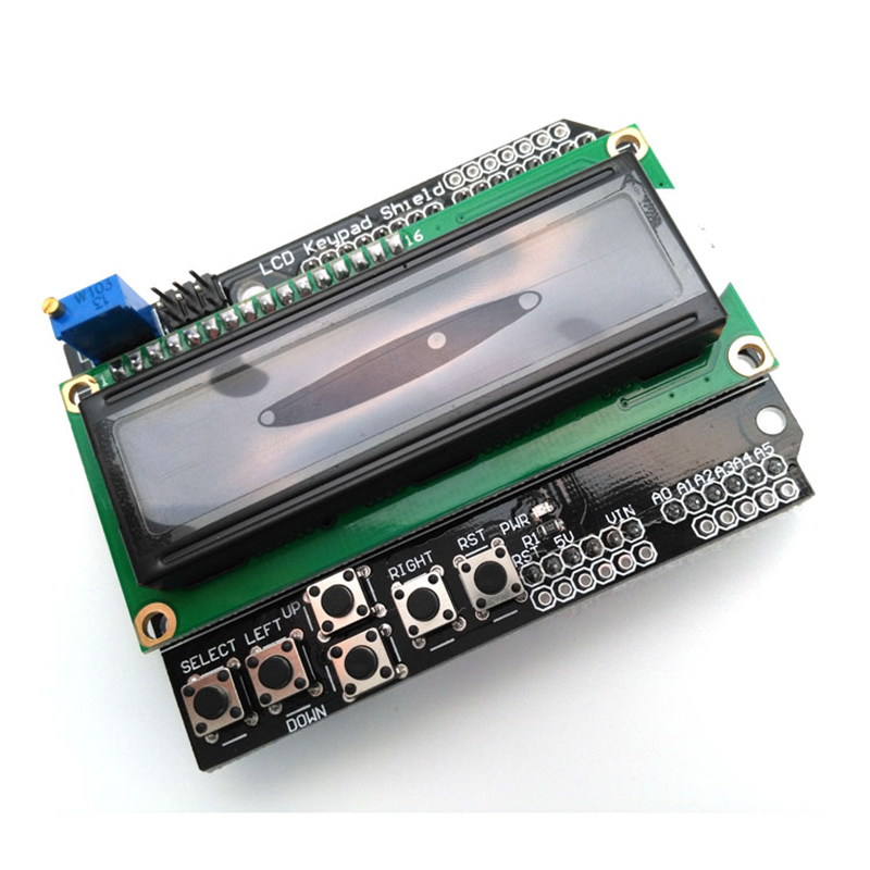 LCD Keypad Shield Of The LCD1602 Character LCD Input And Output Expansion Board For Arduino