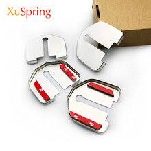 Car Door Lock Cover Protective Caps Case Styling For Ford Kuga Focus Mustang Explorer Mondeo Edge Taurus F150