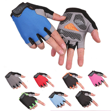 New Gym Gloves Heavyweight Sports Exercise Weight Lifting Gloves Body Building Training Sport Fitness Gloves for Fiting Cycling cheap C002 Sports gloves Training gloves Neutral male and female