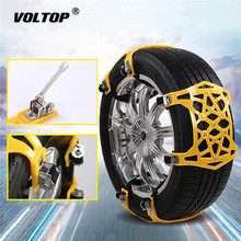 Buy 1pcs Universal Snow Chains Accessories Thickened Widened Non-slip Wheel Winter Goods Truck Car Snow Tire Chain Anti-skid Belt directly from merchant!