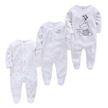 100% cotton 3pcs Roupas bebe de Baby Girl Boy Pijamas bebe fille Cotton Breathable Soft ropa bebe Newborn Sleepers Baby Pjiamas