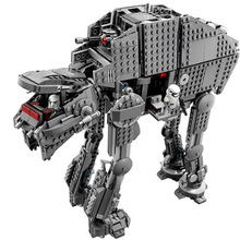 1406pcs Star Toy Wars The Force Awakens Atat Walker Set Building Blocks Bricks Action Toys For Children lepin 05038 3346pcs star force awakens sandcrawler wars model building kit blocks bricks diy toy for kids gift compatible 75059 page 2
