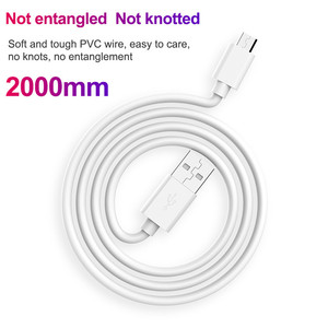 Image 5 - 0.2m/1m/2m/3m Micro USB Cable Fast Charging Sync Data Mobile Phone Android USB Charger Cables for Samsung Xiaomi redmi Micro 2.0