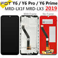 For HUAWEI Y6 2019 LCD Display+Touch Screen Digitizer Replacement For Huawei Y6 Pro 2019 Y6 Prime 2019 LCD+ Frame For Honor 8A