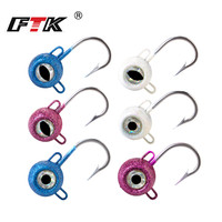 FTK Jig Head Fishing Hook 120g/140g/160g/180g Jig Lead Head Hook for Soft Shad Lure Strong Jigging Bait Tuna Lure Fishing Tackle|Fishing Lures| |  -