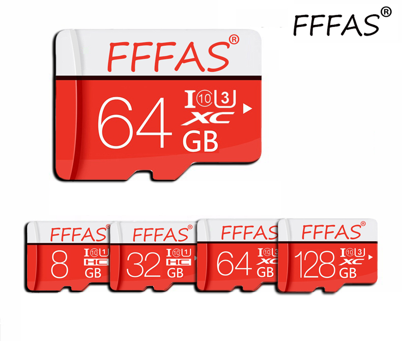 Free Adapter Memory Cards Tarjeta Micro Sd Card 8GB 16GB 32GB 64GB 128GB Class 10 Microsd Flash Usb With Retail Package
