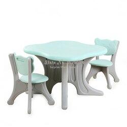 Faltbare kinder Tisch Stuhl Kindergarten Umweltfreundliche Kunststoff Klapptisch Stuhl Hause Tisch StudyTable Für Kinder Geschenk
