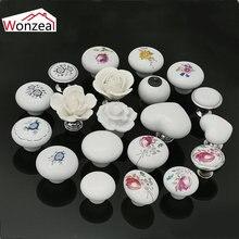 Белый цвет розового лотоса любовь простой керамический с одним
