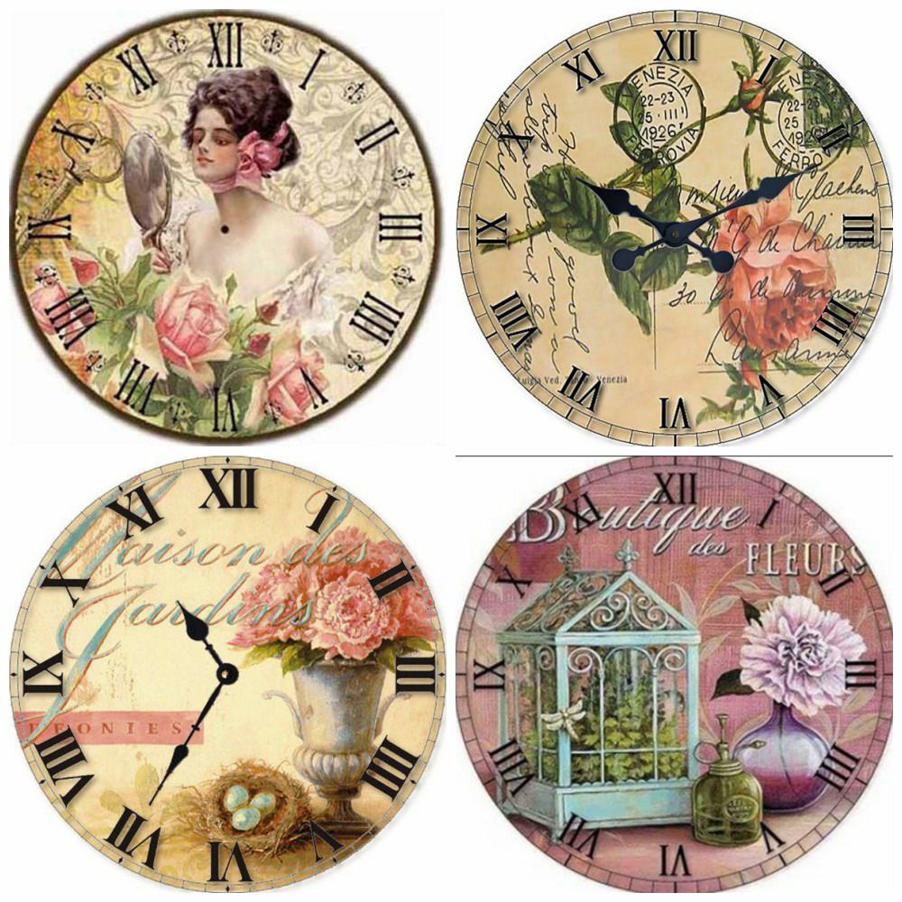 MomoArt DIY Diamond Painting Cartoon Wall Art 5D Diamond Embroidery Wall Clock Full Square Diamond Mosaic Home Decoration in Diamond Painting Cross Stitch from Home Garden