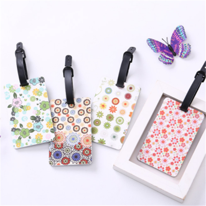 High Quality 1pc Luggage Tag New Identifier Label ID Address Holder Suitcase Luggage Tags Travel Accessories