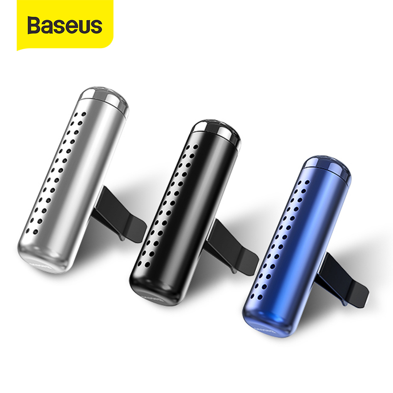 Baseus Car Holder With Air Freshener Clip Air Outlet Aroma Perfume Diffuser Thin Air Freshener In Car Fragrance Clamping Holder