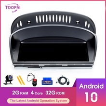 """TOOPAI 8.8"""" Carplay Multimedia Android 10 For BMW E60 E61 E62 E63 E90 E91 E92 E93 M3 M5 Auto Radio GPS Navigation Car Player"""