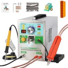 SUNKKO709AD + spot welding machine lithium battery induction automatic spot welding machine with 70B spot welding pen t12 solder