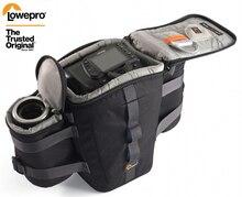Yeni Lowepro Outback 100 Outback 200 dijital SLR fotoğraf makinesi bel paketleri kılıfı Beltpack çantası kamera omuzdan askili çanta Canon Nikon için