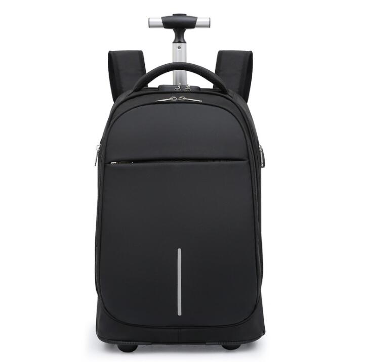 School Wheeled backpack for boys Travel Trolley backpacks bags for teenagers backpack large wheels Children Rolling luggage Bags