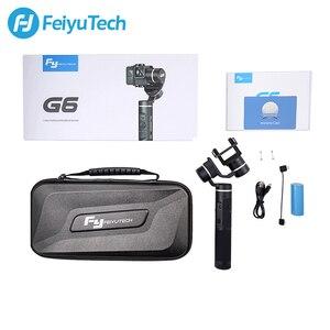 Image 5 - FeiyuTech G6 poignée anti éclaboussures cardan Wifi + stabilisateur de caméra daction Bluetooth pour Gopro Hero 8 7 6 5 Sony RX0 Yi 4k