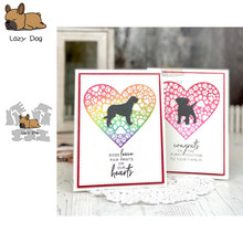 Dog Animal Metal Cutting Dies Scrapbooking Stencil DIY Mold Knife Craft Embossing Die Cuts Card Making New Dies For 2020(China)