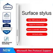 Mpp2.0 ccextra recarregável superfície caneta stylus para microsoft surface pro 3,4,5,6,7, x portátil 1,2,3 livro 1,2 estúdio original dica