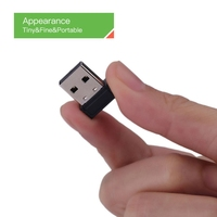 Mini ANT + USB Stick Adapter Dongle ANT USB Stick Adapter Tragbare für Garmin für Zwift für Wahoo radfahren fahrrad geschwindigkeit sensor-in Fahrrad-Computer aus Sport und Unterhaltung bei