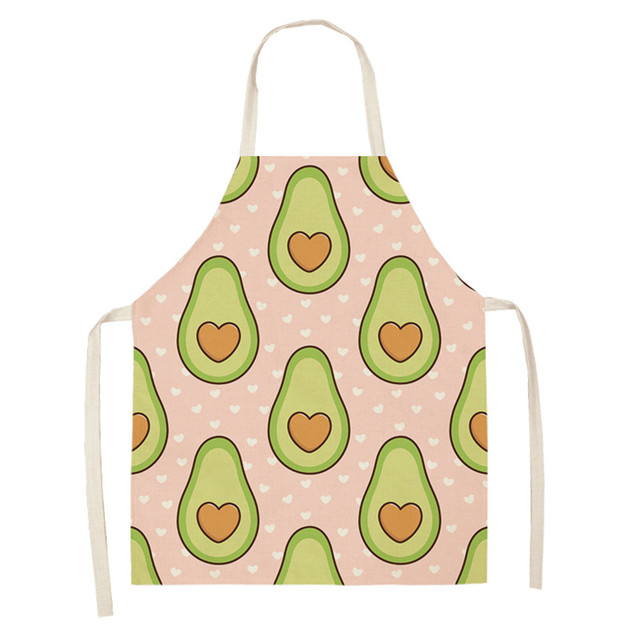 Avocado print Kitchen Apron for Child and Adult