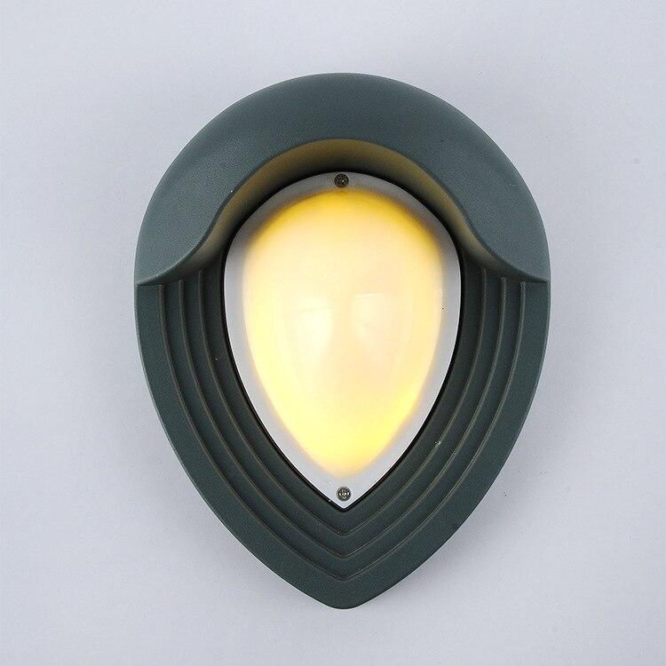 Işıklar ve Aydınlatma'ten LED Dış Mekan Duvar ışıkları'de 5 adet Açık led duvar Işık 6w 600lm Ac85 265v Bahçe Su Geçirmez Ip65 Avlu Balkon Villa dış duvar dekorasyonu Lamba title=
