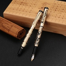 High Quality Jinhao 5000 Metal Dragon Fountain Pen Luxury 0.