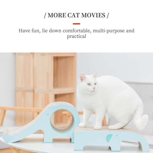 Cat Scratcher Sofa Furniture Scratching Protection Beds and House Climbing With a Corrugated Bridges Claw Accessories for Cats 4