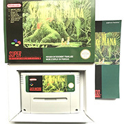 Secret of Mana with box 16bit  game cartridge for pal console