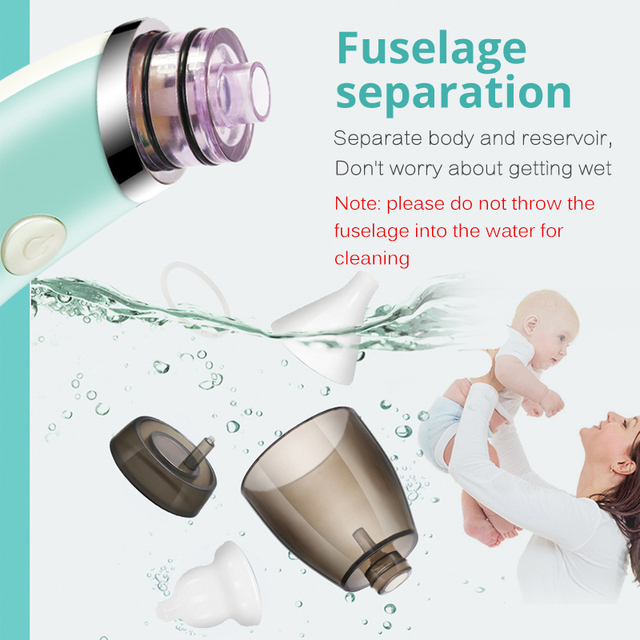 Child Baby Nasal Aspirator Electric Nose Cleaner Newborn Safe Hygienic Nose Aspirator