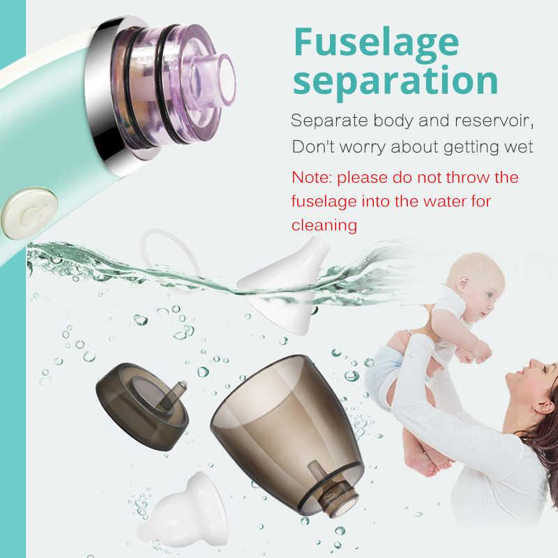เด็กเด็กดูดจมูกไฟฟ้าทำความสะอาดจมูกเด็กทารกแรกเกิดSucker Cleaner Snifflingอุปกรณ์ปลอดภัยถูกสุขลักษณะเครื่องช่วยหายใจจมูก