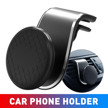 Metal Magnetic Car Phone Holder GPS For Mercedes W203 W213 W176 ML CLK W201 W208 W123 W164 SLK A B C E GLK M Class Accessories image