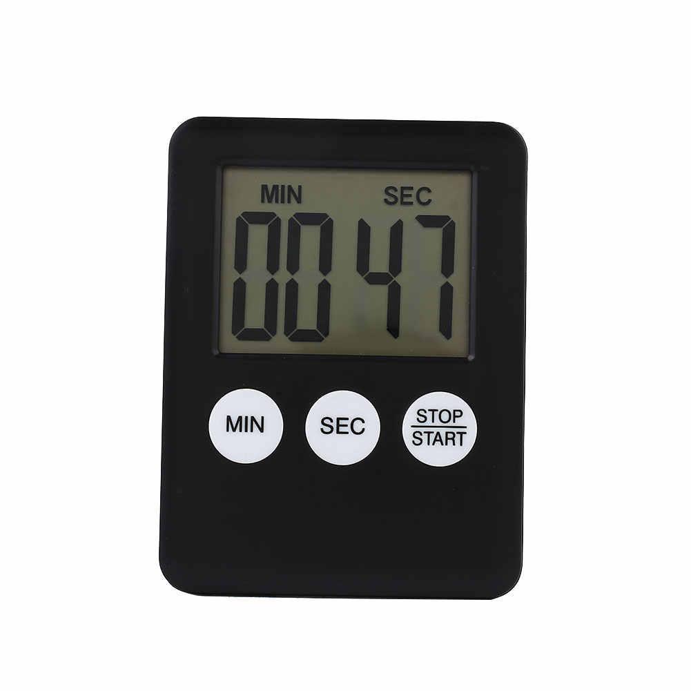 Display Digital 1.8 ''LCD Timer de Cozinha Contagem Regressiva Contador Run Ímã Magnético