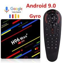 H96 max plus rk3328 android 9.0 caixa de tv 4gb ram 64gb rom 32gb conjunto caixa superior wifi 4k youtube 2g16g smart media player