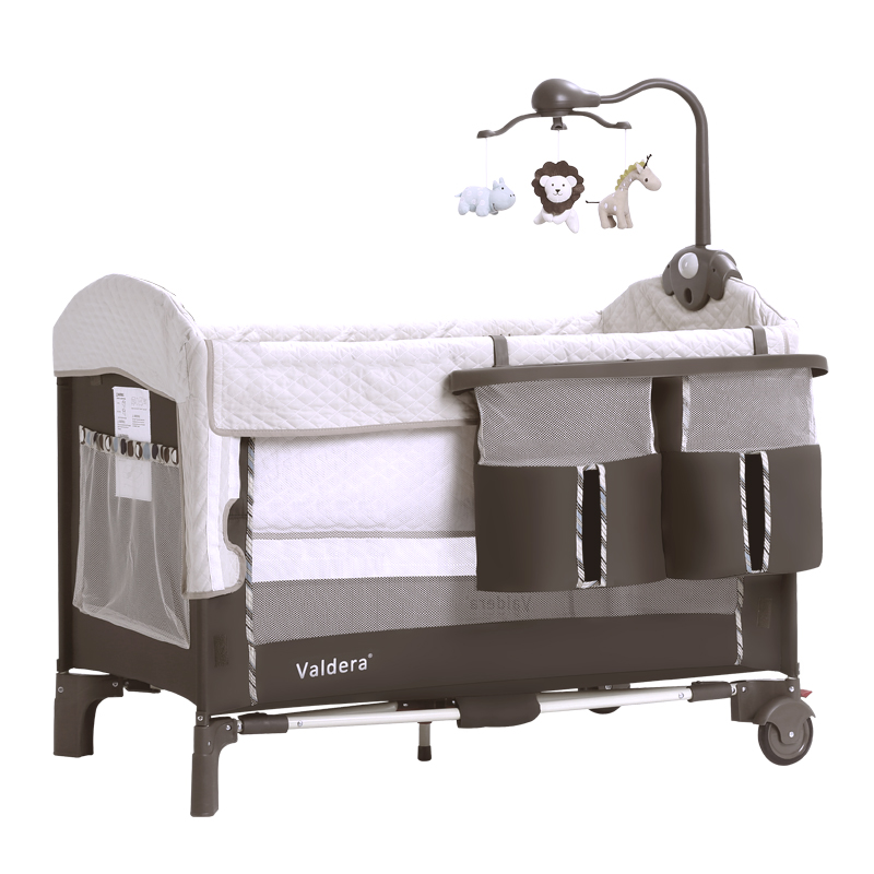 06168  Portable Foldable Crib Babies' Bed BB Bed Cradle Baby Bassinet  Baby Bed